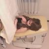 ドクハラ婦人科医#013 18歳飲食業 おりもの 内診台診察