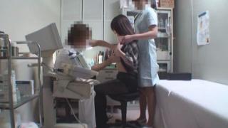 ワイセツ婦人科医の過剰診察記録 #File03-A ~21歳美乳女子大生 生理痛~