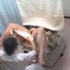 ワイセツ婦人科医の過剰診察記録 #File05-C ~爆乳人妻K・Uさんの妊娠検査~ 内診台診察編
