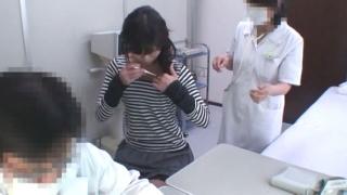 細菌性膣炎になってしまったミニスカ美脚の原さん 実録・産婦人科盗撮 File03 問診