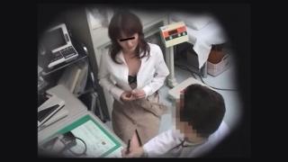 生理不順の28歳美人OL 問診・触診 都市型産婦人科クリニックFile08