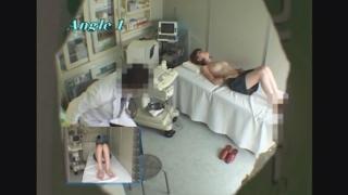 レディースクリニック検診隠し撮り No.2 21歳専門学校生マナミ エコー診察編