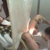 ワイセツ婦人科医の過剰診察記録 #File10-C ~22歳ちっぱい女子大生マユミさん 生理不順~ 内診台診察編