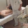 派手な下着が大好きな黒髪美人OLマキさん(28歳)~ ワイセツ婦人科医の過剰診察記録 #File20-B  エコー検査編