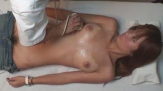 フリーターサキさん(20歳)の素敵な美乳を揉み揉み・・・~ ワイセツ婦人科医の過剰診察記録 #File21-B  エコー検査編