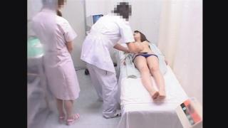 20歳の美乳短大生 トモカさんの超マニアックなエコー検診シーン ~不安と羞恥の診察室~ File12