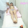 19歳の黒髪カワイイ系女子大生 サヤカさんの超マニアックなエコー検診シーン ~不安と羞恥の診察室~ File13