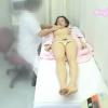 スレンダー美人ジュンコさん(23歳)のおっぱいをじっくり揉み揉み・・・じゃなくて触診。不安と羞恥の診察室 File18 エコー検診&触診