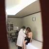 ちっぱい美乳23歳OLノリエさん 不整出血 触診 鬼畜の産婦人科診察隠し撮り File01-B