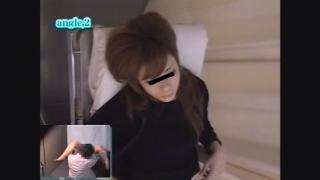 微乳で美乳な23歳OLノリエさん 内診台診察アングルB 鬼畜の産婦人科診察隠し撮り File01-D