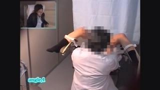 【流出】産婦人科診察隠し撮り File02-D メガネ美人の25歳主婦アヤコさん 内診台診察アングルA