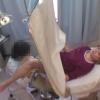 22歳の女の子にはちょっと刺激が強すぎる内診台開脚診察 ~ ワイセツ婦人科医の過剰診察記録 #File24-C