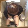 25歳の長身OLハルミさん ~待合室・採尿~ 婦人科診察のすべて  File02-a