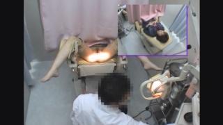 ~羞恥の内診台診察(後半) 美脚の女子大生アキさん(20) ~ 婦人科診察のすべて File03-b