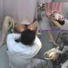 ~羞恥の内診台診察(後半) 長身黒髪主婦のヨウコさん(33) ~ 婦人科診察のすべて File04-b