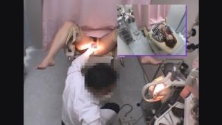 ~羞恥の内診台診察(後半) 金髪ギャルの19歳サキさん ~ 婦人科診察のすべて File06-b