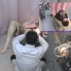 ~羞恥の内診台診察(後半) 長身美脚美人の22歳女子大生ナナコさん ~ 婦人科診察のすべて File07-b