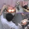 ロングヘアーが素敵な女子大生アイさん(20)の開脚内診台診察(前半)・・・ 婦人科診察のすべて File09-b