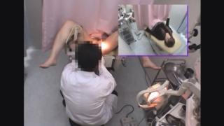 ~羞恥の内診台診察(後半) 20歳の女子大生アイさん ~ 婦人科診察のすべて File09-b
