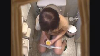 ミニスカ美脚の巨乳OLレイコさん(23) ~待合室・採尿~ 婦人科診察のすべて  File10-a