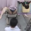不安そうな表情にソソられる女子大生ナナミさん(21)の開脚内診台診察(前半)・・・ 婦人科診察のすべて File13-b