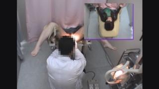 ~羞恥の内診台診察(後半) 小柄でカワイイ19歳女子大生ナナミさん ~ 婦人科診察のすべて File13-b