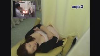 色白でポチャカワOLのナオコさん(24歳)の内診台診察 都市型産婦人科クリニックFile25
