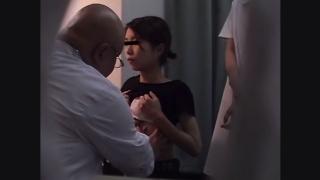 産婦人科診察#003 24歳ちっぱい公務員アサミさんの問診・触診編