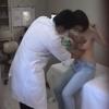 ボッチャリだけどなかなか美巨乳な21歳女子大生クミさん 子宮痛 触診 鬼畜の産婦人科診察隠し撮り File05-B