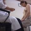 鬼畜の産婦人科診察隠し撮り File06-A 色白でショートカットの美乳美女 デパート店員ノリカさん(23歳) 生理痛 問診