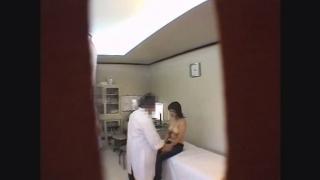 脱いだら見事なG乳!24歳OLカナさん 子宮内膜症 触診 鬼畜の産婦人科診察隠し撮り File08-A2
