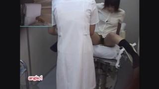 不安げな表情がたまらない24歳OLカナさん 内診台診察 File08-B1 鬼畜の産婦人科診察隠し撮り