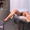 今にも泣きだしそうな20歳の公務員カナさん 内診台診察 File08-B1 鬼畜の産婦人科診察隠し撮り
