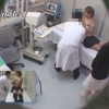 美巨乳女子大生のカオリさん(20歳)のエコー診断 レディースクリニック検診隠し撮り No.28