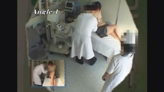 スラリと伸びり美脚が魅力的な人妻ヒロミさん(27歳)のエコー診断 レディースクリニック検診隠し撮り No.30