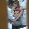 ミニスカ&セクシー見せブラの20歳飲食業フミカさん ~触診編~ 婦人科診察のすべて  File14-C