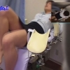 恥辱の内診台診察 産婦人科診察#009B-1 24歳OLルミさんの内診台診察編