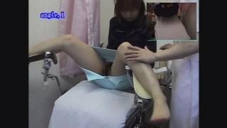 恥辱の内診台診察 産婦人科診察#011B-1 23歳のなかなか美人なOLサオリさんの内診台診察編