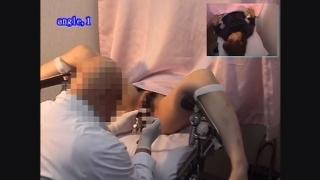 背徳の内診台診察隠し撮り 産婦人科診察#011B-2 23歳OLサオリさん内診台診察編2