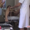 恥辱に耐える22歳フリーターのナオさん 内診台診察 File12-B1 鬼畜の産婦人科診察隠し撮り