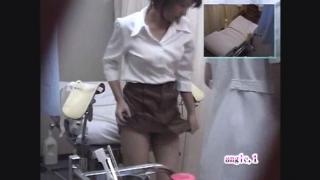 【美人OL】背徳の内診台診察隠し撮り 産婦人科診察#015B-2 サオリさん(26)内診台診察編2