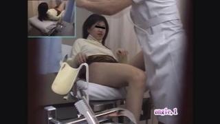 【美人女子大生】背徳の内診台診察隠し撮り 産婦人科診察#016B-2 エミさん(20)内診台診察編2
