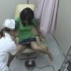 長身美脚な女子大ユリエさん(22)の開脚内診台診察(前半)・・・ 婦人科診察のすべて File21-b