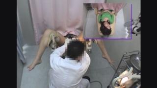 ~羞恥の内診台診察(後半) 美脚女子大生のユリエさん(22) ~ 婦人科診察のすべて File21-b