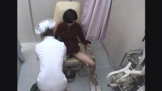 開脚内診台診察(前半)女子大生カオリさん(21)・・・ 婦人科診察のすべて File26-b