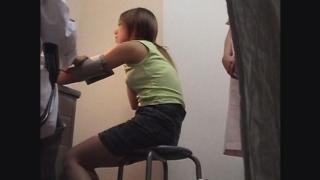 【健康的に日焼けしたケイコさん(24)】 問診・触診編 産婦人科診察#014A-1