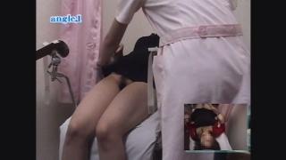 恥辱の内診台診察 産婦人科診察#015B-1 19歳女子大生のナオさんの内診台診察編