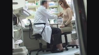 脱いだら超美乳だった24歳接客業の尚さん 関西有名産婦人科マル秘盗撮5 問診編
