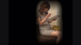 ミニスカ美脚の専業主婦フミエさん(27) ~待合室・採尿~ 婦人科診察のすべて  File29-a