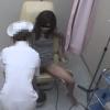専業主婦フミエさん(27)の内診台診察(前半)・・・ 婦人科診察のすべて File29-b